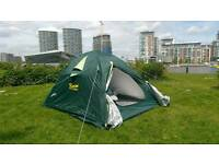 Hiking tent almost new