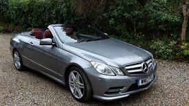 Mercedes-Benz E Class 2.1 E250 CDI AMG Sport Cabriolet 7G-Tronic Plus 2dr