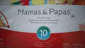 Mamas & Papas playmat & gym
