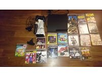 PS3, 1x controller, 19 Games, PS Move, Singstar, Keypad