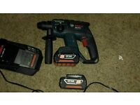 Bosch 18v sds hammer drill gbh18v-Li