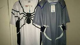 Base layers are Spider-Man and quicksilver both new with tags