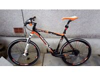 Whistle miwoc 1483d, large frame, 24 speed, disc brakes, excellent condition