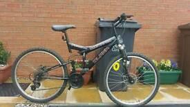 Mountain bike. Silverfox FS26 Black