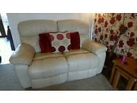 2 seater & 3 seater leather Recliners