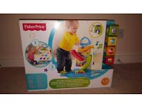 Fisher-Price Roller Blocks Play Wall brand new