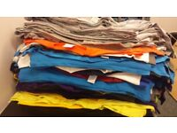 T-shirts various sizes, and colours. From £1.20 each, or offer for job lot.