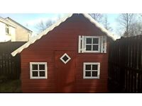 Playhouse with loft for sale Good Condition