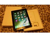 Ipad 4 generation. Black, WiFi 9'7 inch in very good condition