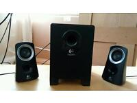 Logitech 2.1 surround system speakers