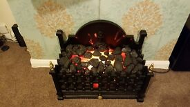 Electric heater fire place - can deliver