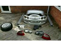 MG ZR Spare Parts. Bumper, Side Skirts, Spoiler, Alloy, Headlights, Taillights