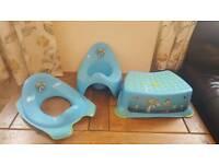 Toy story potty training set
