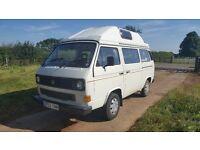 Volkswagen VW T25 campervan