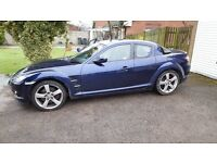MAZDA RX8 WITH 12 MONTHS MOT TODAY 88K