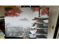 Nice large canvas good quality print