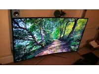 Samsung UE65KU6500 65 inch, Freeview HD, LED Smart Curved 4K Ultra HD HDR TV