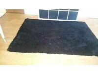 Big black rug for sale