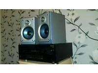 Pioneer amp / Aiwa speakers
