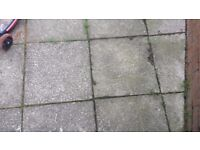 Garden Paving Slabs Grey