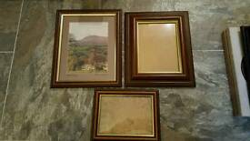 Selection of pictures frames