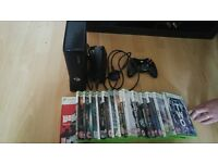 xbox 360 added harddrive and games