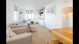 Short term let, 2 bed sea-view apartment, central Brighton