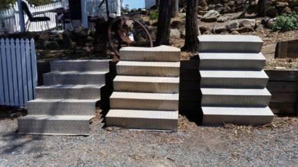 Alluminium Checker Plate Steps Worongary Gold Coast City Preview