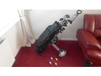 Full set of golf clubs for sale