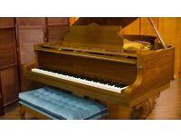 Baldwin-Howard Art case Grand Piano- Model 550 - Ribbon Mahogany semi-gloss