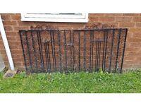 Wrought Iron Gates...