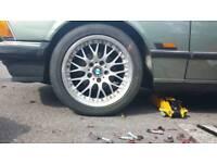 "Set of 5 BMW style 42 alloy wheels 5x120 17"""