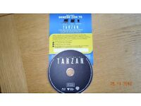 The Legend of Tarzan Bluray Disc and UV HD Diigtal code (Italian import)
