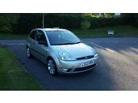 2003 Ford Fiesta 1.4 Silver Limited Edition great little car