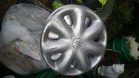 Citroen wheel trims