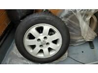 Mazda demio like new tyres 65 14