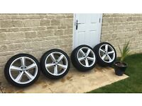 "18"" Genuine Audi Alloys with tyres"