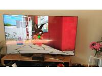 "Samsung 75"" Qled curved TV ***Like New***"