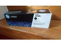 NEW: HP 35A Black Original LaserJet Toner Cartridge (CB435A) £35 inc P&P