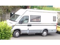 Iveco camper project, x reg (2000). Part finished, sleeps 3. Includes all essentials to camp now