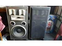 2 jamo dynamic d5e speakers