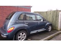 pt cruiser being sold as spares and repairs .