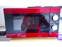 RED/BLACK MICROWAVE