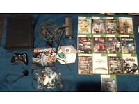 XBOX360 console and games dimensions infinity