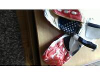 AKITO summer motorcycle gloves.