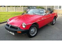 1978 MGB Roadster in need of renovation