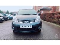 Nissan Note 1.6 N-TEC+ Automatic Sat Nav Parking Camera 5dr Blue Part Ex Welcome