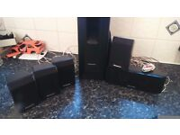 Suround sound 5-1 speakers and bass