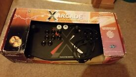 Rare XArcade Two Player Joysticks Retro Gaming Controller