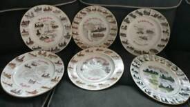 Edwardian coal plates